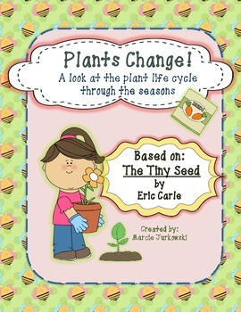 Plant Life Cycle Through the Seasons Based on The Tiny See