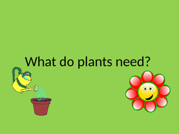 Plant Needs Games