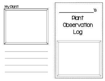 Plant Observation Log - Primary