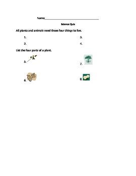 Plant Quiz