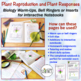 Plant Reproduction Interactive Notebooks and Warm Ups