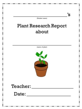 Plant Research Project