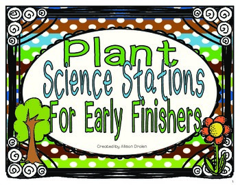 Plant Science Centers For Early Finishers
