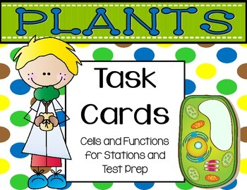 Plant Task Cards