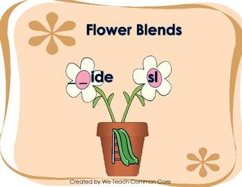 Blends Beginning Sound -Plant that Blend Daily 5 Literacy Center