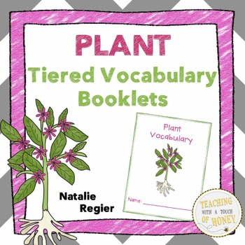 Plant Tiered Vocabulary Booklets