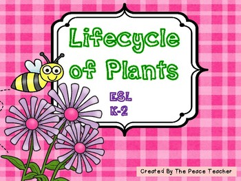 Plant Unit - Primary Grades, ESL