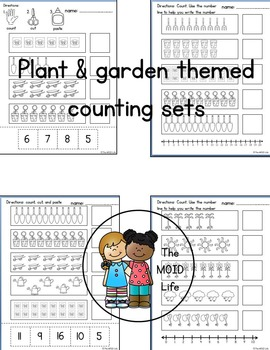 Plant and Garden Unit Counting Sets