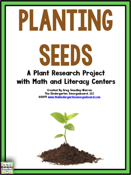Plants!  Plantin' Seeds!  A Common Core Research Creation!