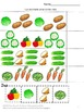 Plants Vegetable Garden Math and Literacy Cut and Paste Wo