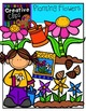 Planting Flowers {Creative Clips Digital Clipart}