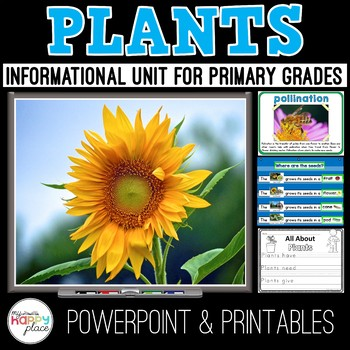 Plants Unit: Life Cycle, Parts, Needs, and More!
