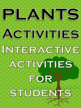 Plants Activities Science Fall Fun Stuff