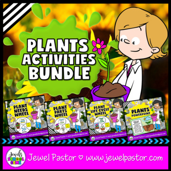 Plants Activities BUNDLE (PowerPoint, Crafts and Science P