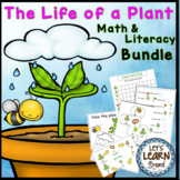 Plant Life Cycle, Math and Literacy Activities, Plant Unit