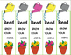 Plants / Garden Activities Bookmarks (Free) Coloring, For