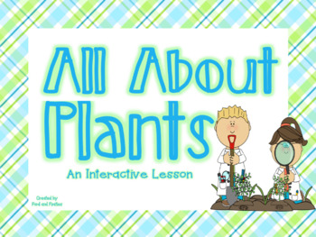 Plants Flipchart - All About Plants!