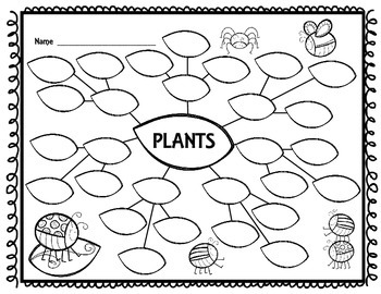Plants {Graphic Organizer for Movies}