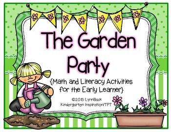 Plants: Literacy, Science and Math Activities for the Earl