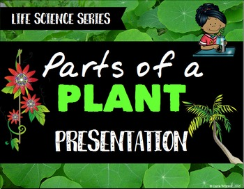 Plants: Parts of a Plant Presentation - Life Science Series