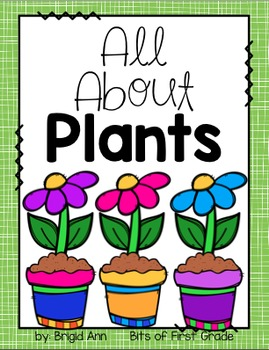 Plants (Printables, Journals, Experiments)