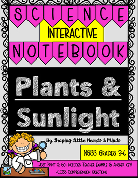 Plants & Sunlight- Science Interactive Notebook & Journal