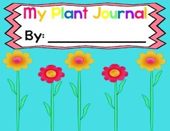 Plants Unit: My Plant Journal