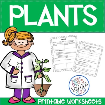 Plants Unit Worksheets