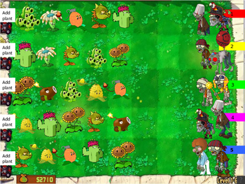 Halloween! Plants VS Zombies Game for Classroom Management
