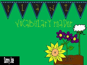 Plants Vocabulary Reader