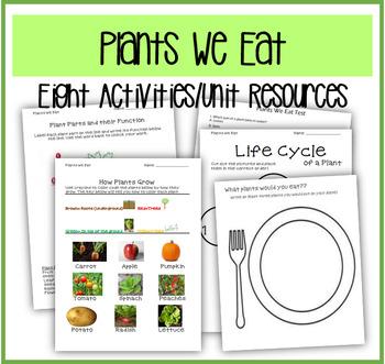 Plants We Eat Unit