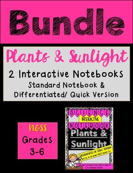 Plants and Sunlight Standard AND Differentiated - Science