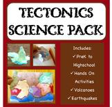 Plate Tectonics, Earth Science, Geology, Earthquakes and V