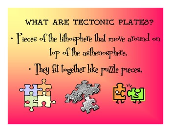 Plate Tectonics - PowerPoint - the basics