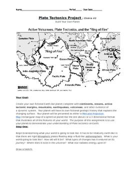 Plate Tectonics Project Choice #2
