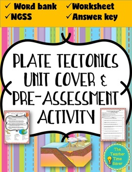 Plate Tectonics Unit- Pre-assessment/Warm-up (Activity and