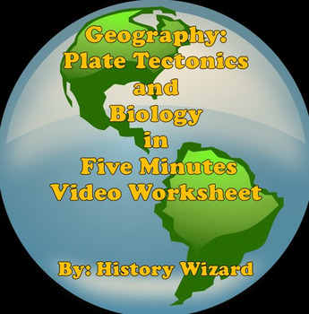 Geography: Plate Tectonics and Biotic Interchange in 5 Min