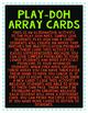 Play-Doh Arrays
