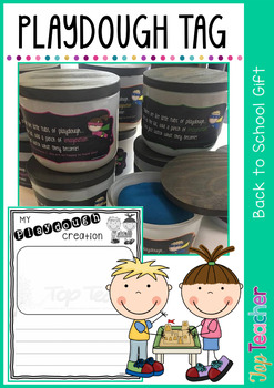 Play Dough Activity and Gift