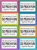 Play Dough Bag Tags - Back to School Student Gift and Acti