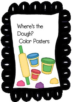 Play Dough Color Posters