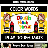 "Play Dough Color Words--Play Dough Mats ""Dough Much Fun"""
