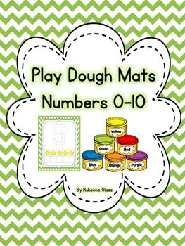 Play Dough Mats {0-10}