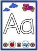 Play Dough Mats - Alphabet, Numbers, and Shapes (Superhero)