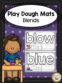 Blends Play Dough Mats