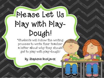 Play-Dough Opinion Writing (September Writing)