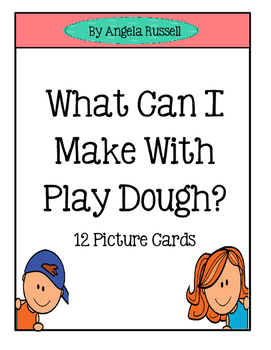 Play Dough ~ Visual Cards
