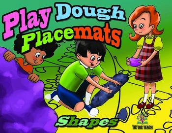 Play Dough Place Mats - Shapes