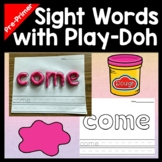 Sight Words Kindergarten with Play Dough Mats {40 Pages!}