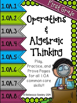 Play-Practice-Prove! First Grade Common Core: Operations &